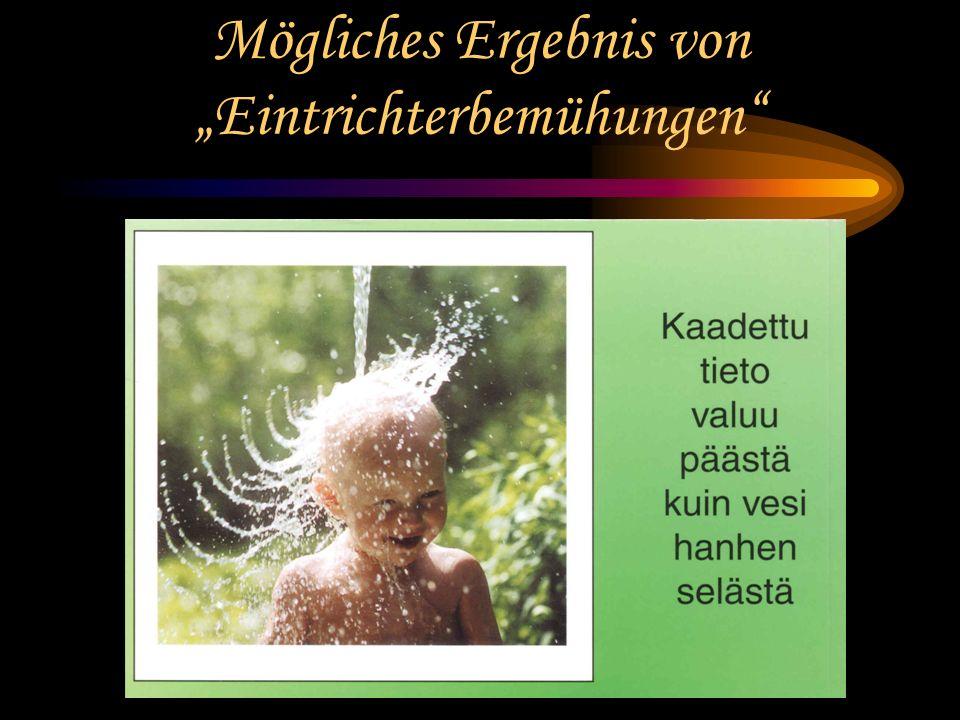 Karlsruhe 2003 - Prof. Dr. Bernd Zimmermann - Friedrich-Schiller-Universität Jena Wie lässt sich das unterrichten? Klassische Methode: Mögliche Effekt