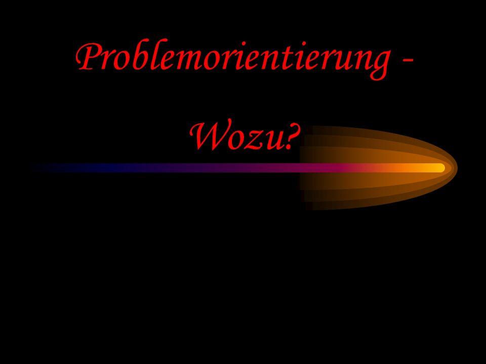 Prof. Dr. Bernd Zimmermann - Problemorientierung - Vortrag Ringvorlesung FSU Jena WS 2000/2001 Folgenfortsetzen Bei einem immer wieder verwendeten Typ
