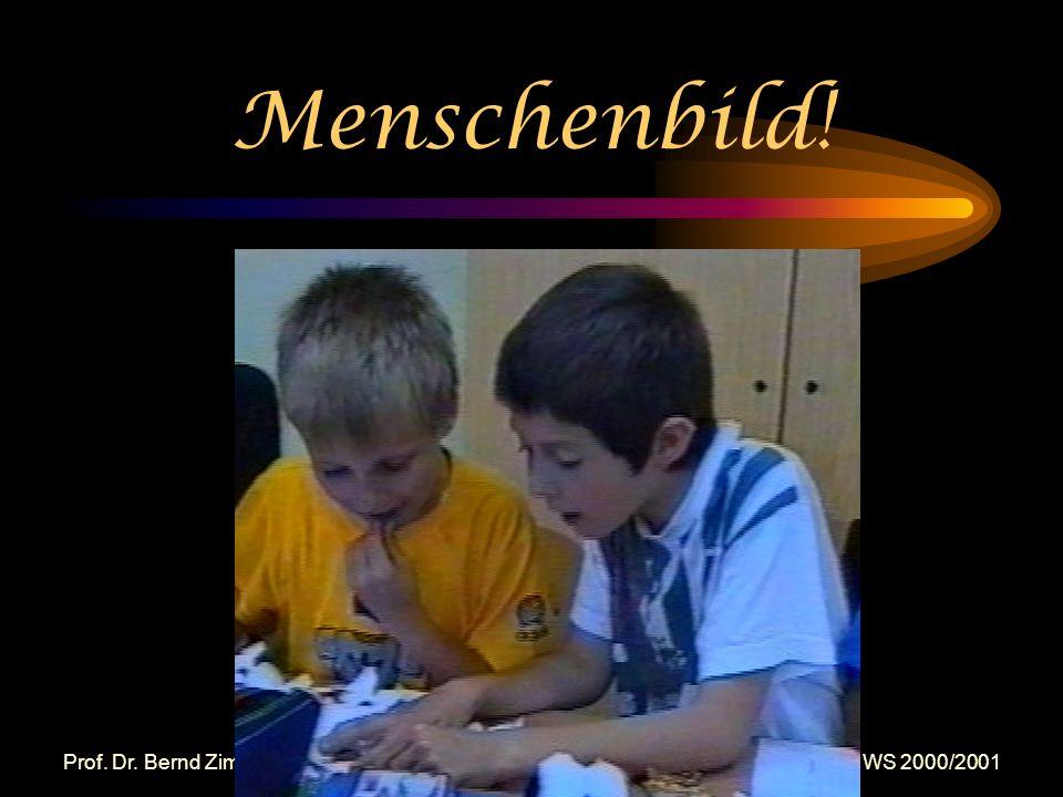 Prof. Dr. Bernd Zimmermann - Problemorientierung - Vortrag Ringvorlesung FSU Jena WS 2000/2001 Fächerübergreifende Schlüsselqualifikationen u. a.: Umg