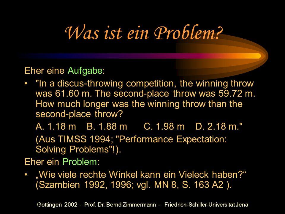 Was ist Problemorientierung?
