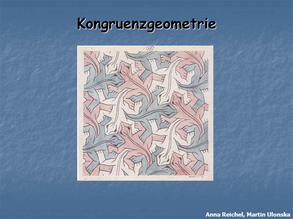 Umsetzung der Kongruenzgeometrie in der Schule 11/12