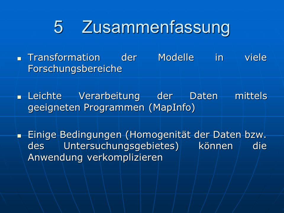 5Zusammenfassung Transformation der Modelle in viele Forschungsbereiche Transformation der Modelle in viele Forschungsbereiche Leichte Verarbeitung de