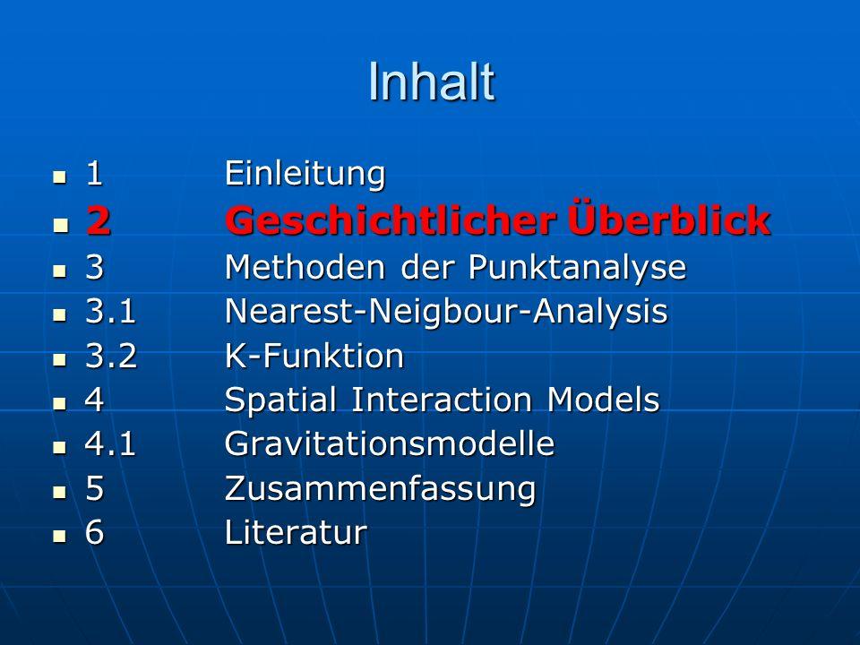 Anwendung Gleiche Anwendungsbereiche wie Nearest – Neighbour-Distanz Gleiche Anwendungsbereiche wie Nearest – Neighbour-Distanz V.