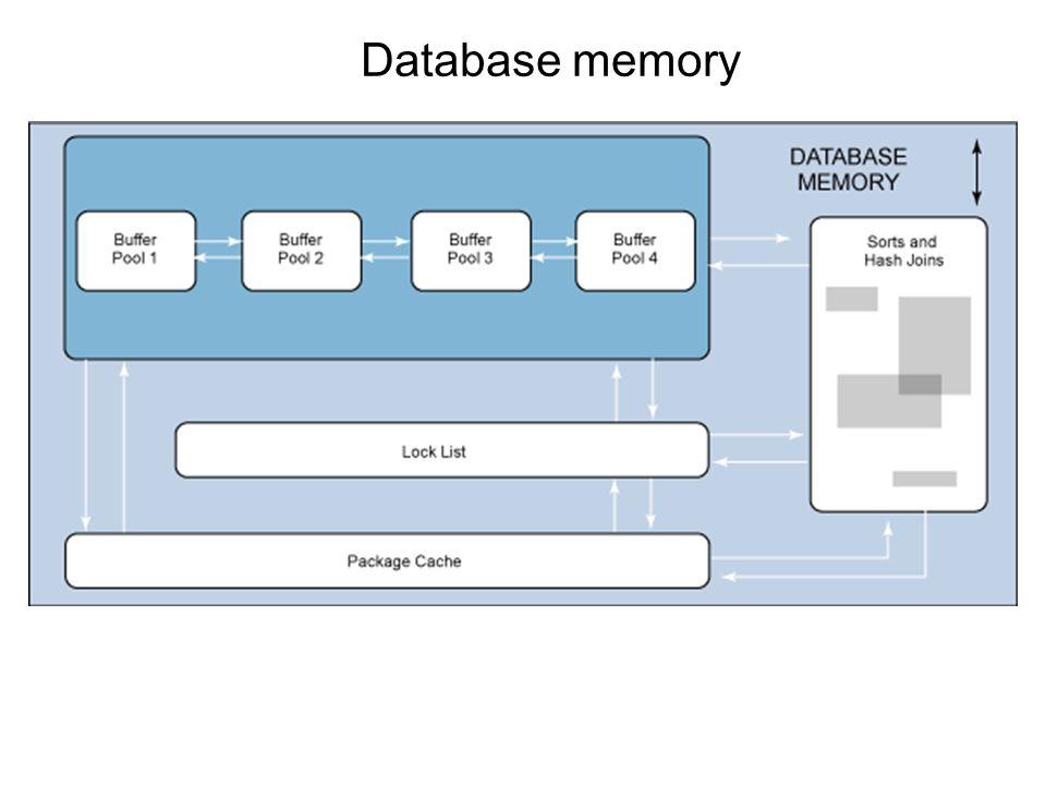 Database memory