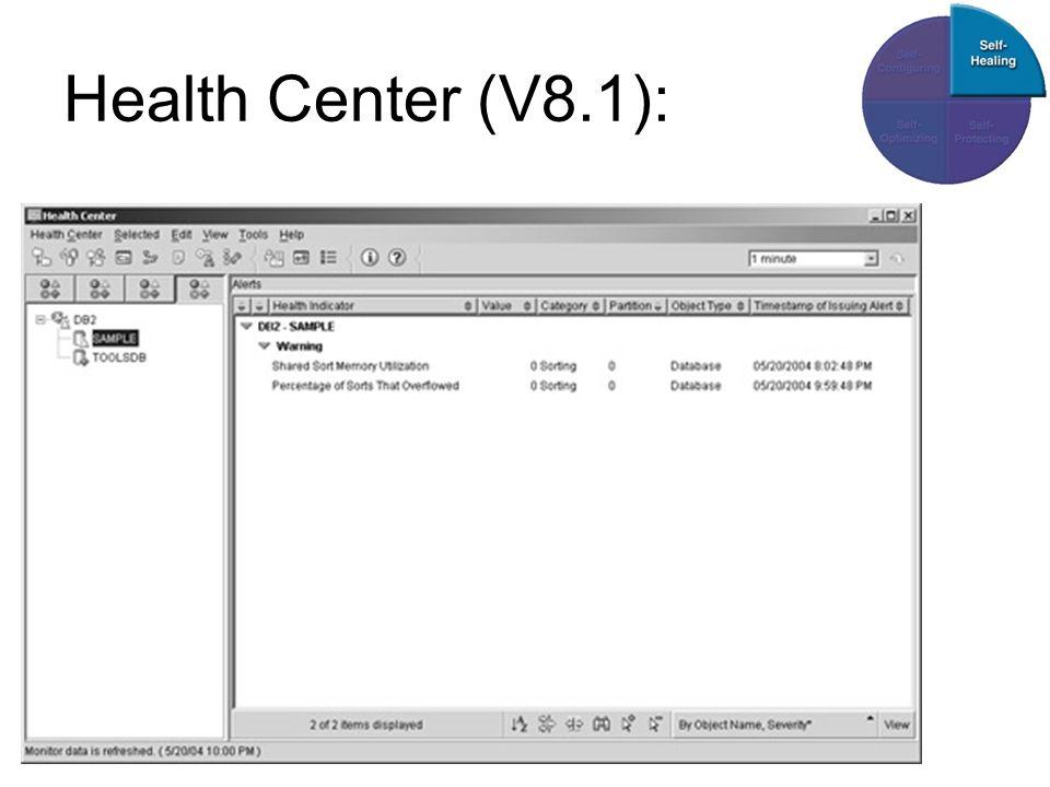 Health Center (V8.1):
