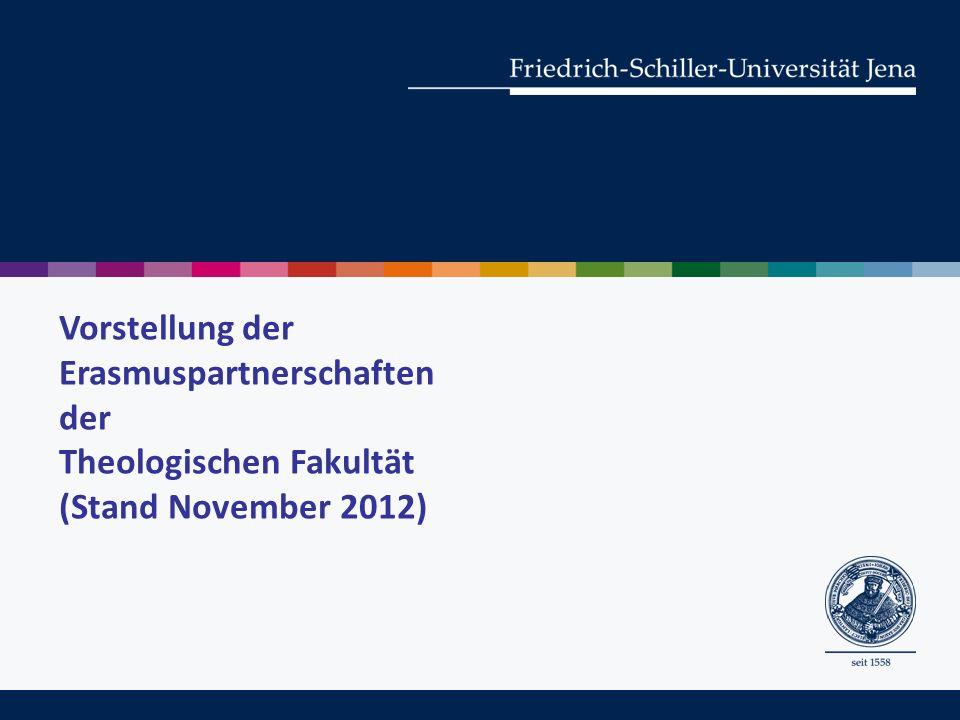 I.Allgemeine Informationen zu Erasmus und zum Internationalen Büro II.