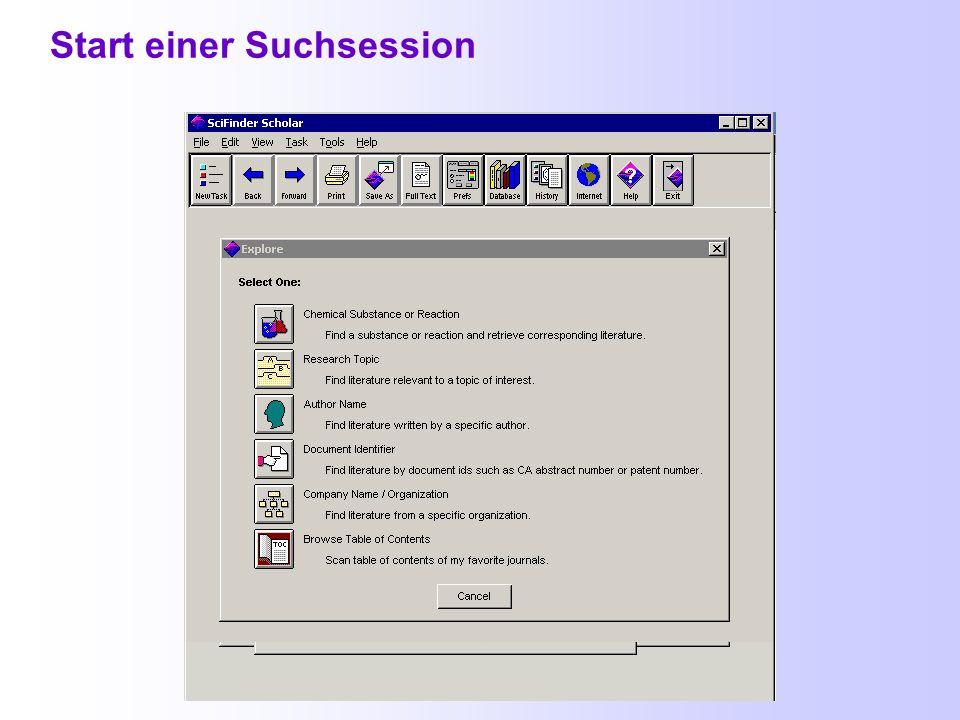 Gleichzeitiger Zugriff auf SciFinder Innerhalb der Friedrich-Schiller-Universität können 3 Nutzer gleichzeitig mit SciFinder arbeiten bei Überschreitung dieser Zahl bekommt man folgende Meldung :