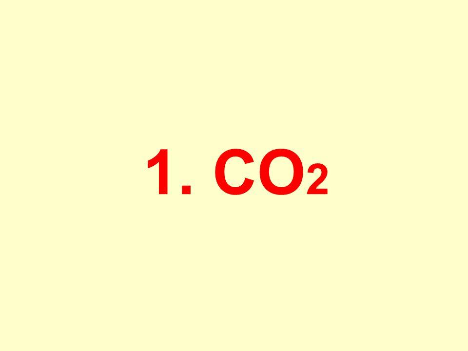 1. CO 2