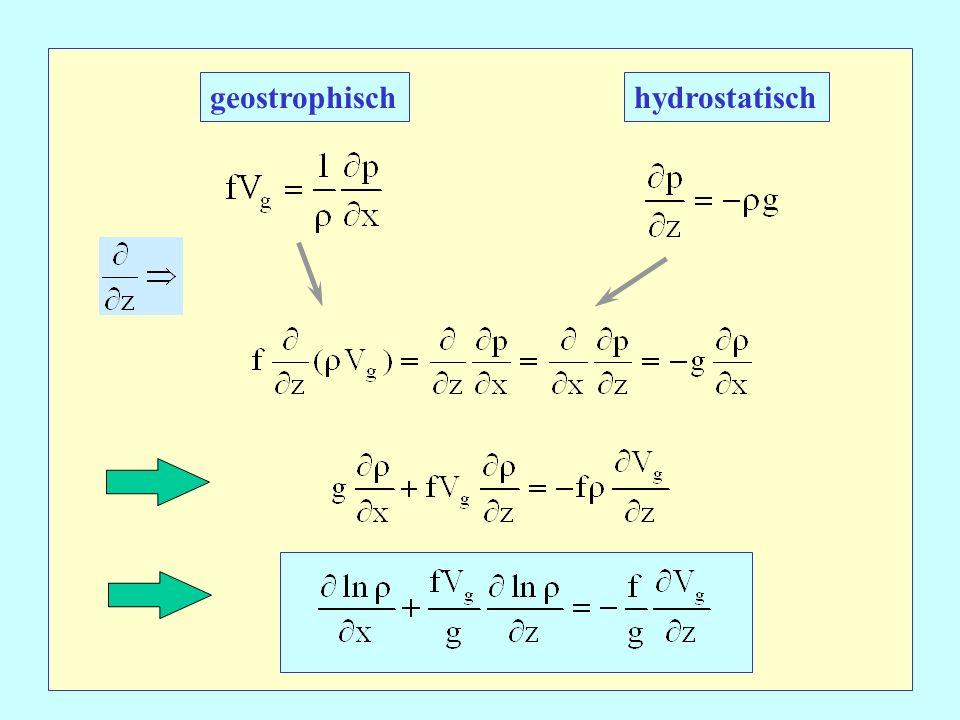 geostrophischhydrostatisch