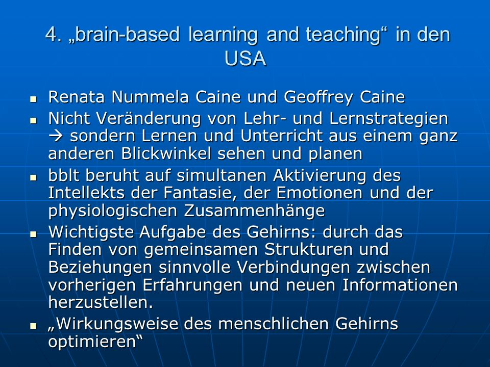 4.brain-based learning and teaching in den USA 1.