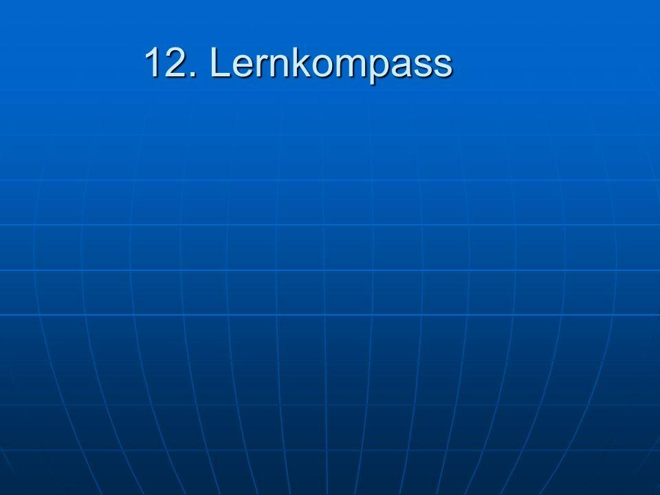 12. Lernkompass