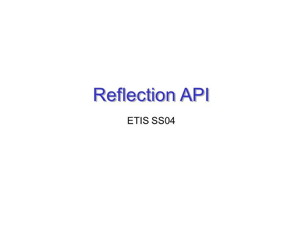 Reflection API ETIS SS04