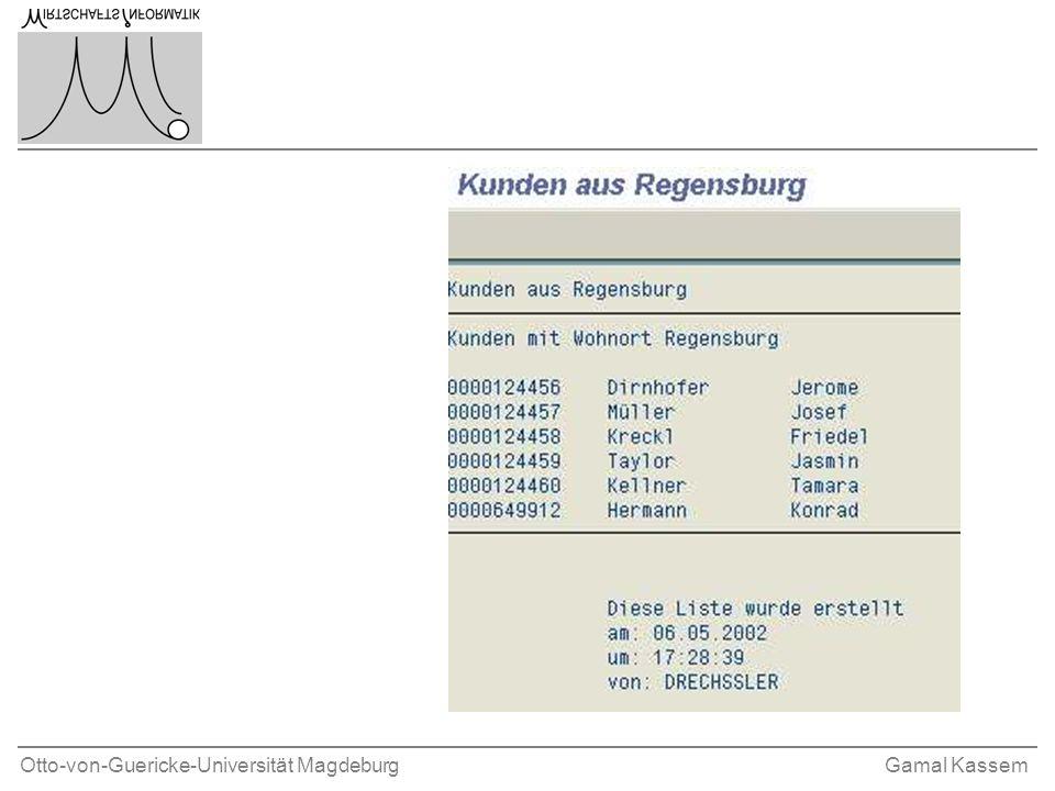Otto-von-Guericke-Universität MagdeburgGamal Kassem