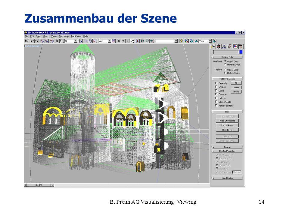 B. Preim AG Visualisierung Viewing14 Zusammenbau der Szene