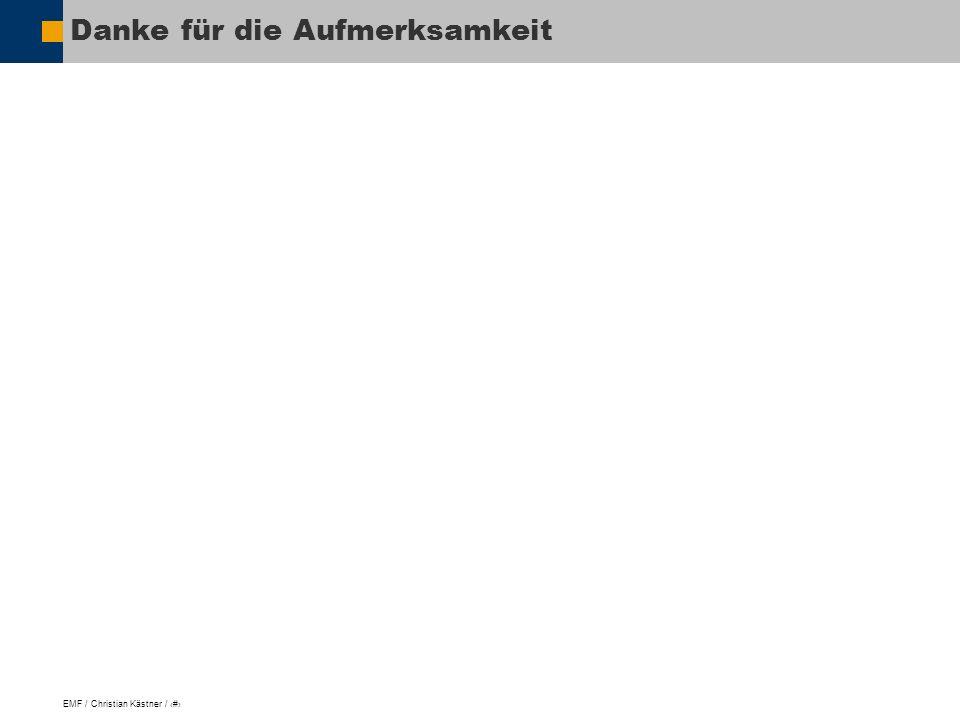 EMF / Christian Kästner / 17 Danke für die Aufmerksamkeit