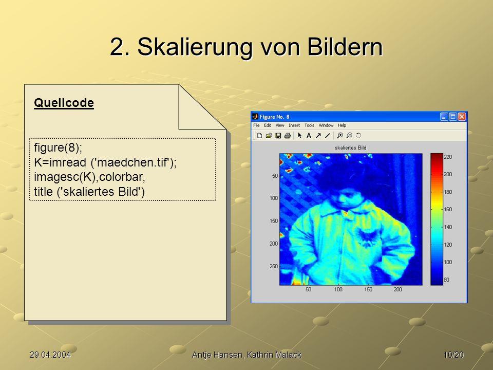 10/2029.04.2004Antje Hansen, Kathrin Malack 2.