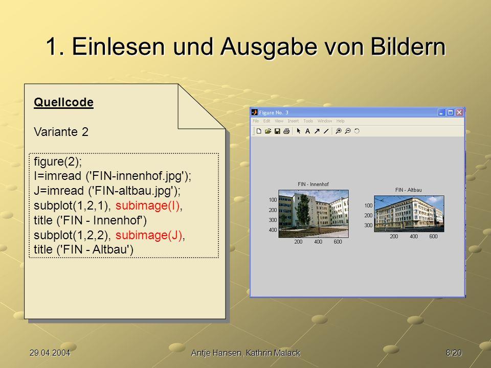 19/2029.04.2004Antje Hansen, Kathrin Malack 4.