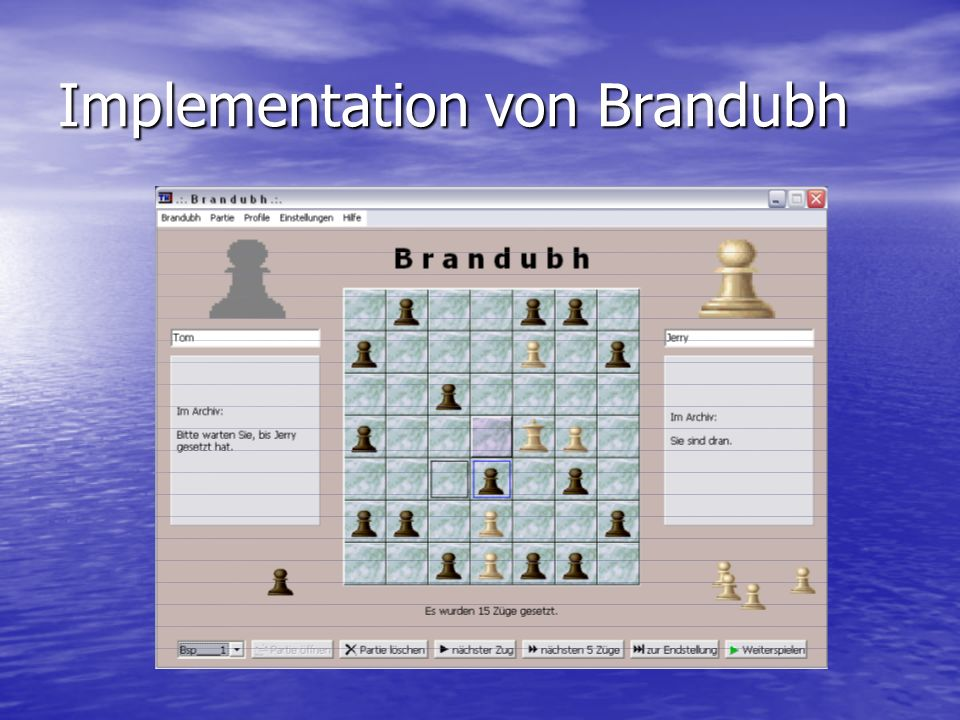 Implementation von Brandubh