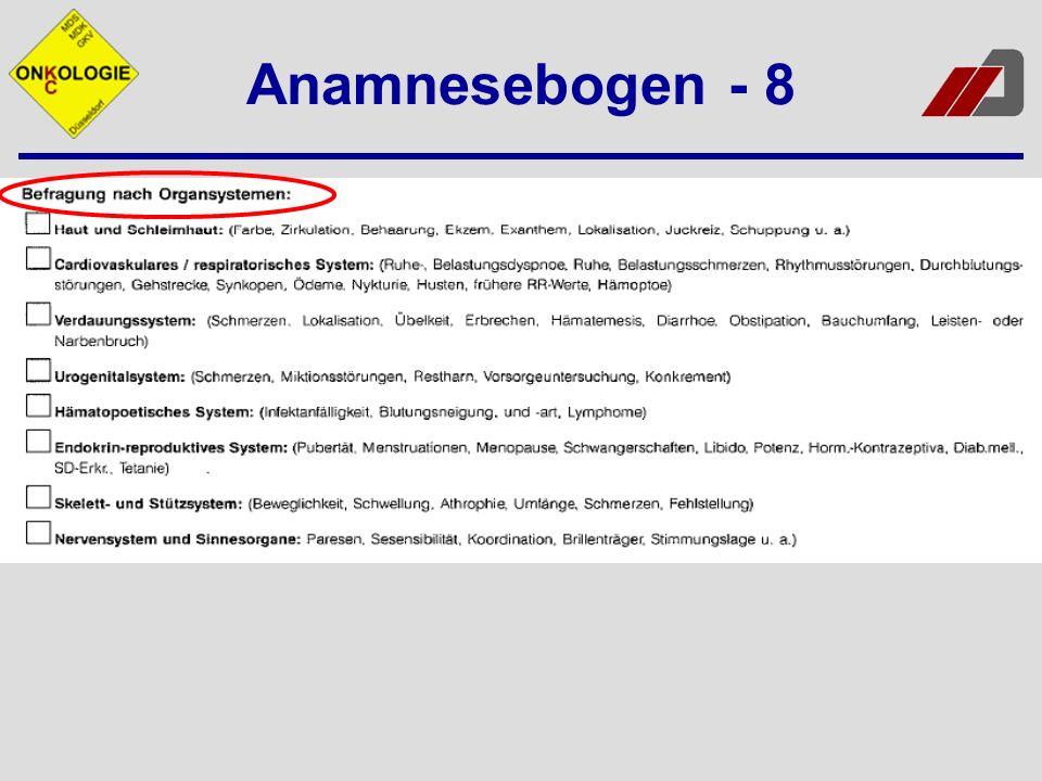 Anamnesebogen - 8
