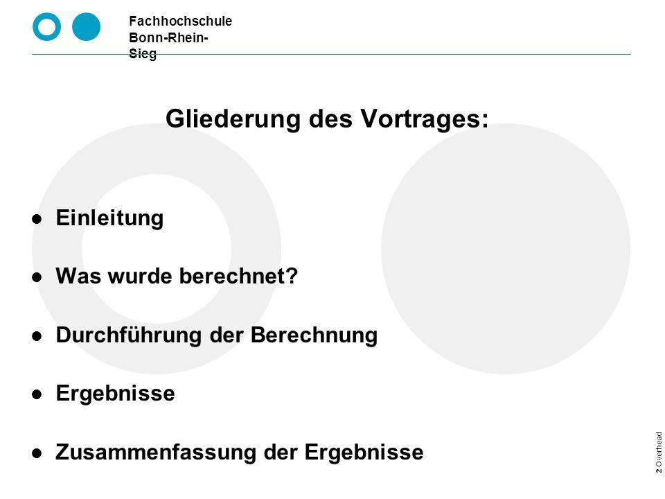 Fachhochschule Bonn-Rhein- Sieg WS 03/04FEM Berechnung eines Königszapfens Königszapfen, was ist das.