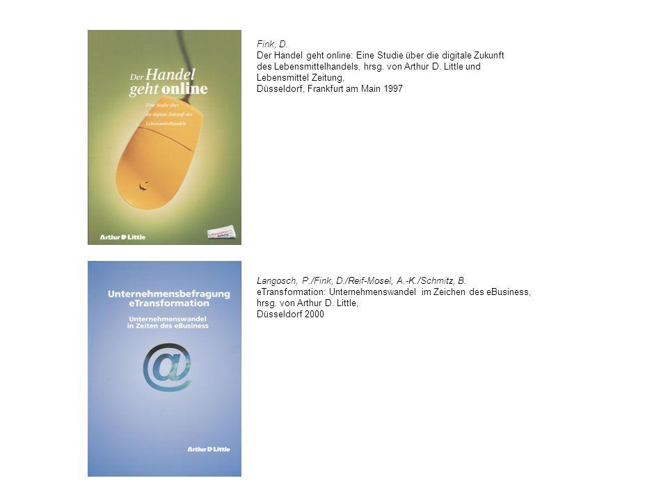 Schwarz, P./Fink, D.Electronic Customer Care in der Investitionsgüter-Industrie, hrsg.