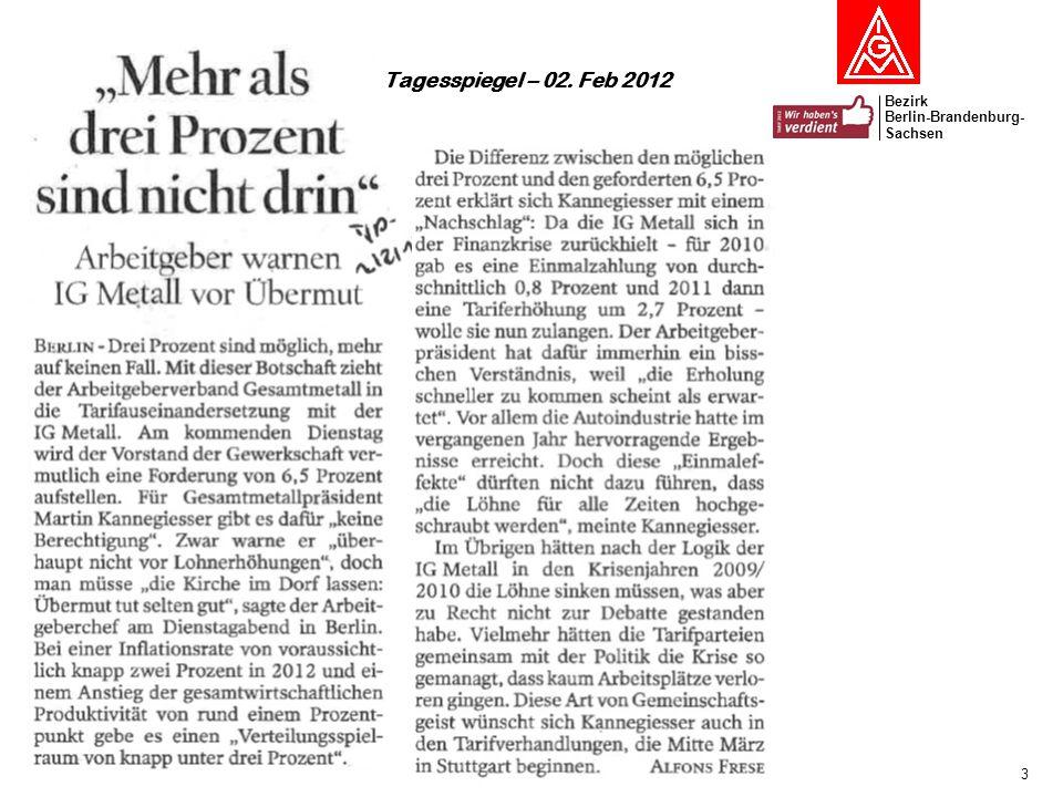 Bezirk Berlin-Brandenburg- Sachsen 4 Anteil an den Deutschen Exporten 2010: Euroländer 41% USA 7% Japan 1% BRIC-Staaten 10,5% Wachstumsprognose weltweit