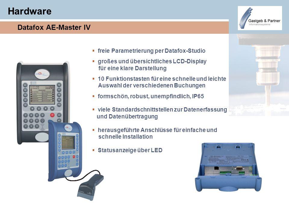 Hardware Datafox AE-Master IV freie Parametrierung per Datafox-Studio großes und übersichtliches LCD-Display für eine klare Darstellung 10 Funktionsta