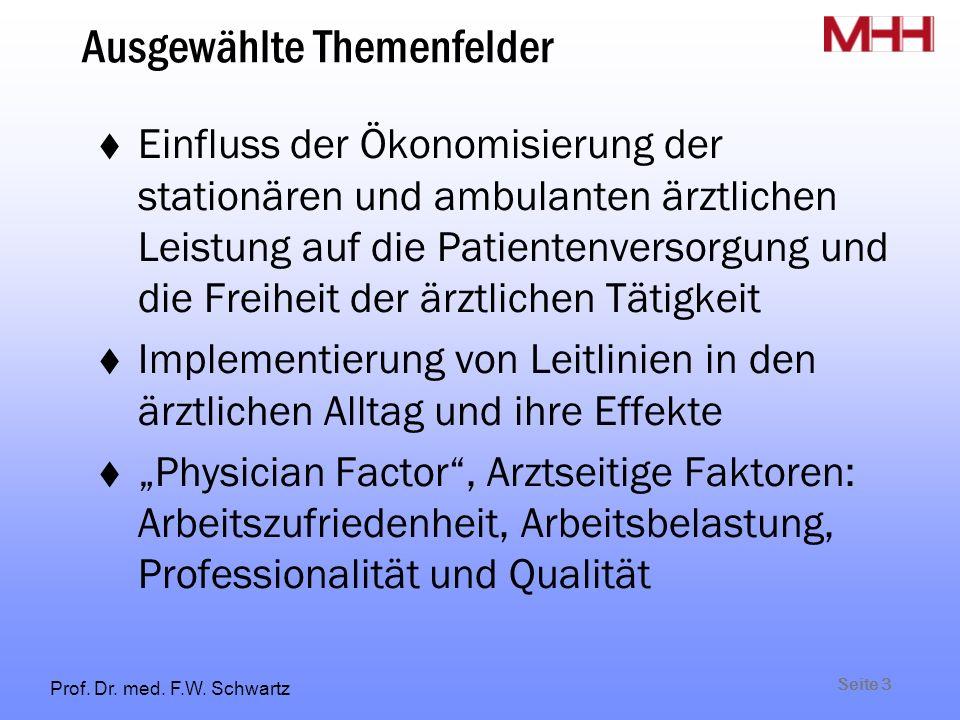Seite 3 Prof. Dr. med. F.W.