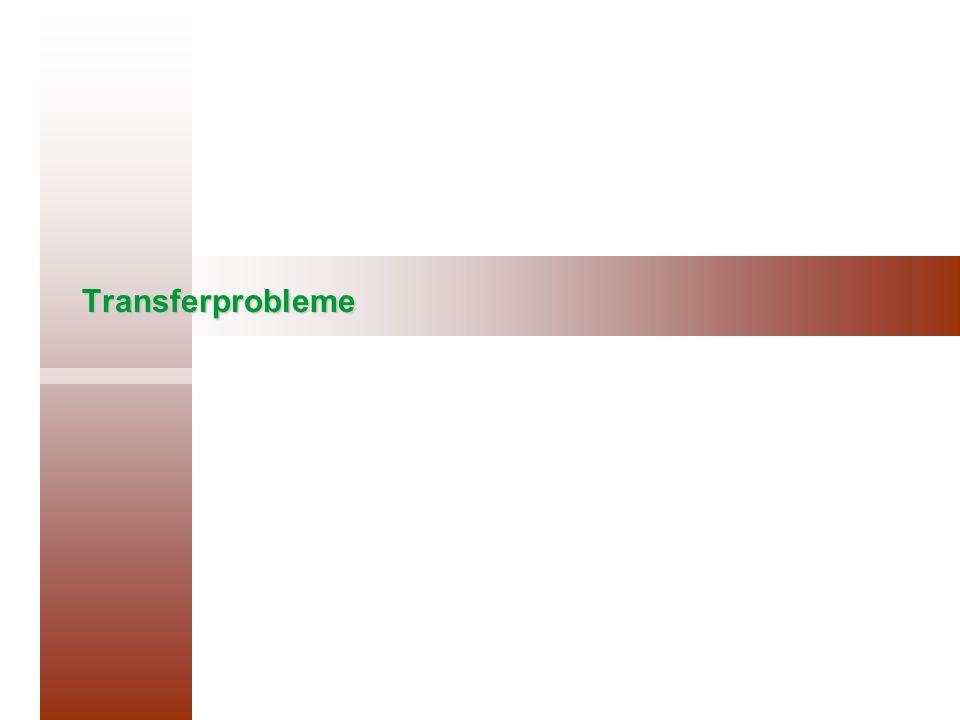 Transferprobleme