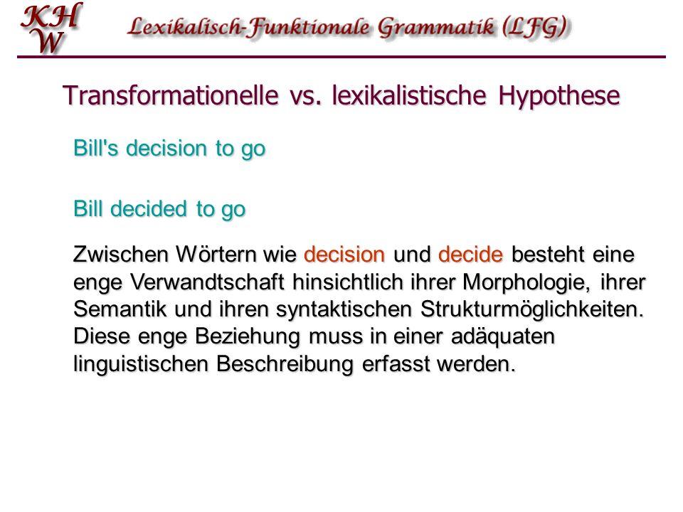 Transformationelle vs.