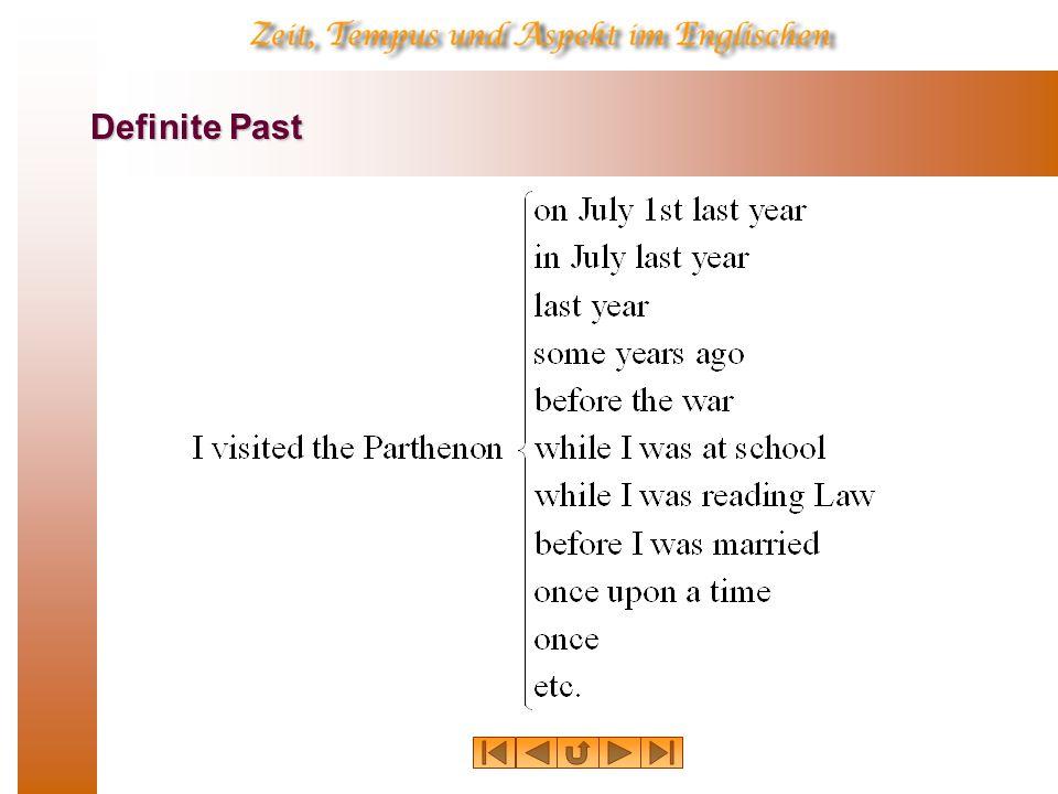 Definite Past