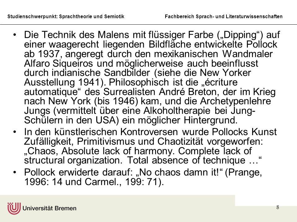 Studienschwerpunkt: Sprachtheorie und SemiotikFachbereich Sprach- und Literaturwissenschaften 9 Number 32, 1950 (Kunstsammlung, Nordrhein-Westfalen, Düsseldorf