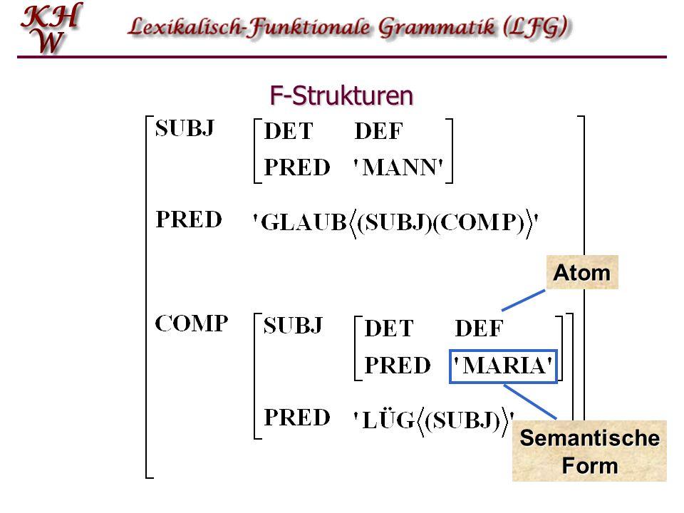 F-Strukturen Atom