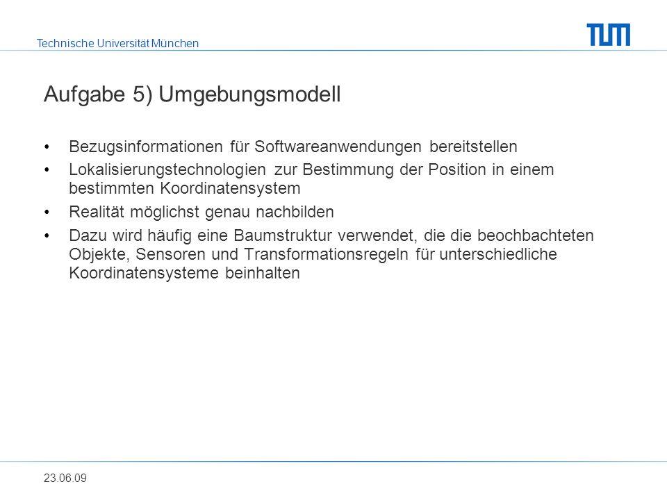 Technische Universität München Wolfgang Schwitzer Aufgabe 5) Beispiel Szenenbaum