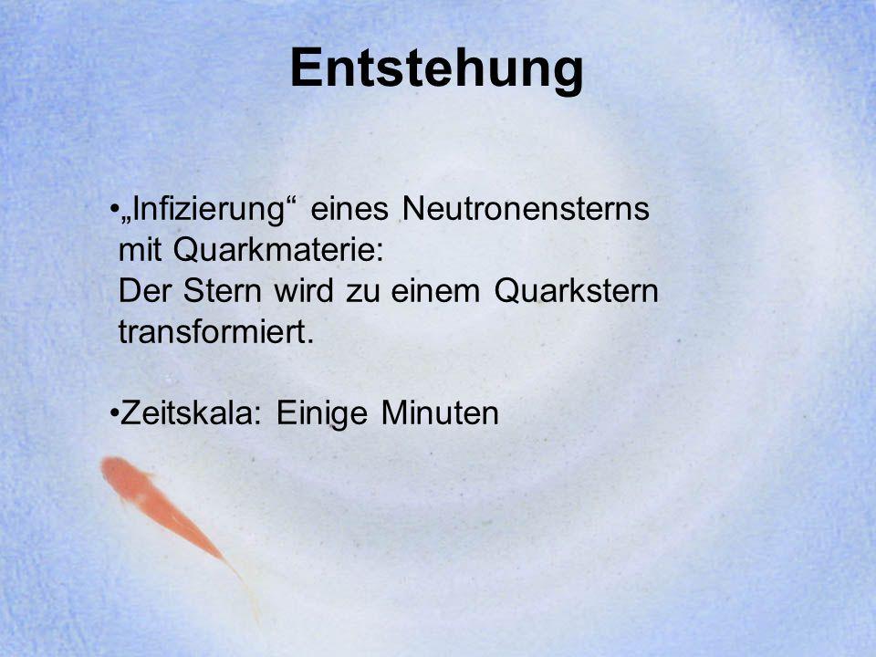 Bodmer-Witten-Hypothese Quarkmaterie, bestehend aus u-,d- und s- Quarks, könnte der stabile Grundzustand der Materie sein