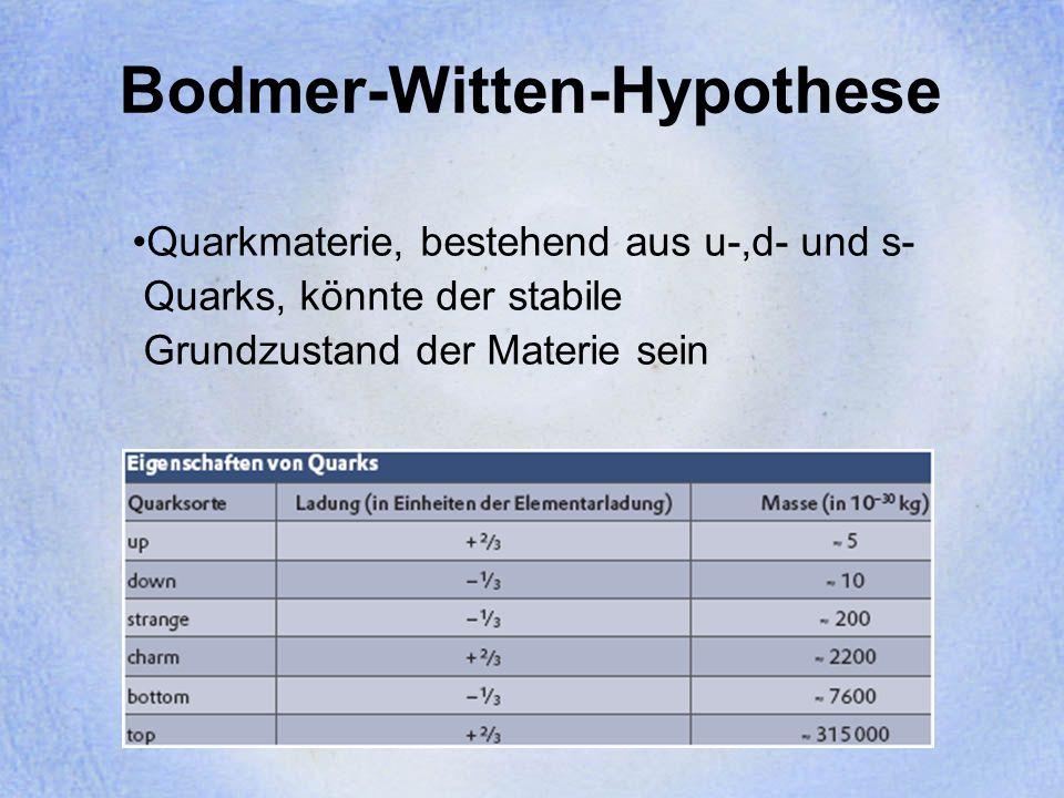 Zustandsgleichung Tolman-Oppenheimer-Volkoff Gleichung: Beschreibt das Gleichgewicht zwischen Gravitationskraft und Druckgradient