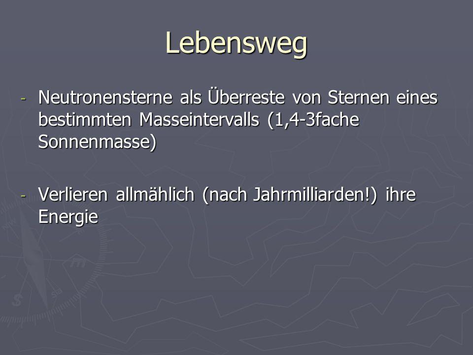 Quellen - http://abenteuer-universum.de/stersterne/neutro.html http://abenteuer-universum.de/stersterne/neutro.html - http://astro.uni- frankfurt.de/astrotage_WS0809/Neutronensterne_thermal_ evolution_P2.pdf http://astro.uni- frankfurt.de/astrotage_WS0809/Neutronensterne_thermal_ evolution_P2.pdf http://astro.uni- frankfurt.de/astrotage_WS0809/Neutronensterne_thermal_ evolution_P2.pdf - White Dwarfs, Neutron Stars and Black Wholes, by Shapiro and Teukolsky - http://th.physik.uni- frankfurt.de/~sedrakian/astroparticle/Lecture15.pdf