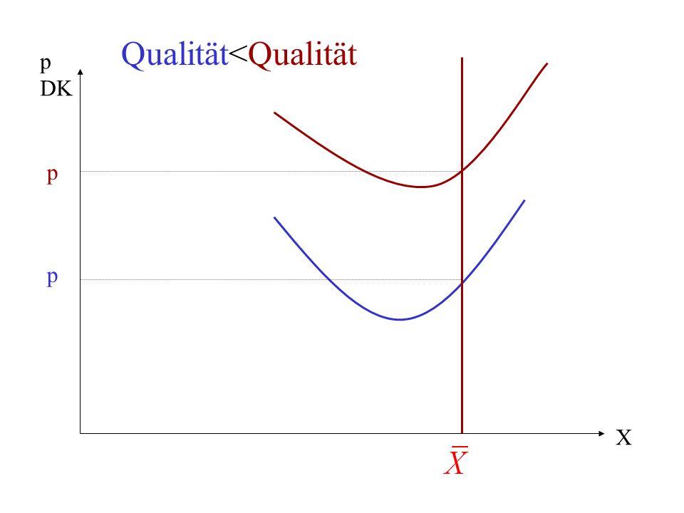 X p DK Qualität<Qualität p p