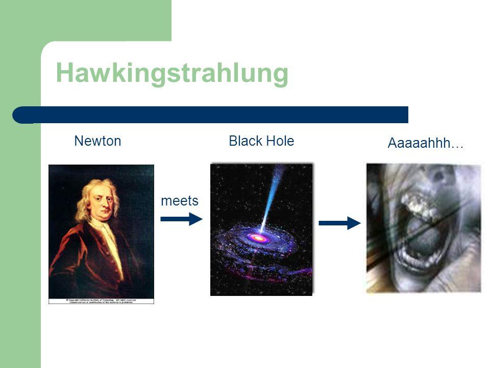 NewtonBlack Hole Aaaaahhh… meets