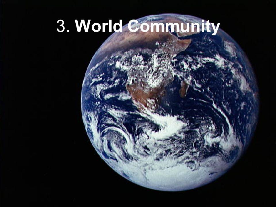 3. World Community
