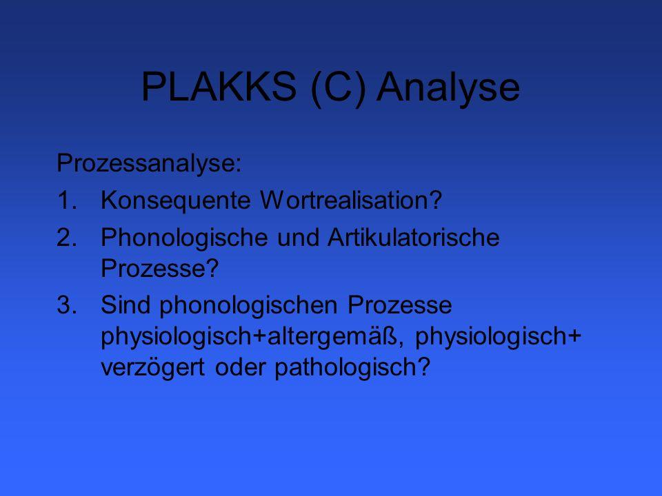 PLAKKS (D) Protokollbogen 1