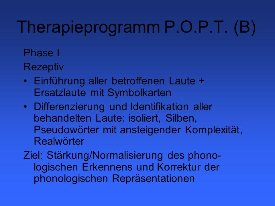 Therapieprogramm P.O.P.T.