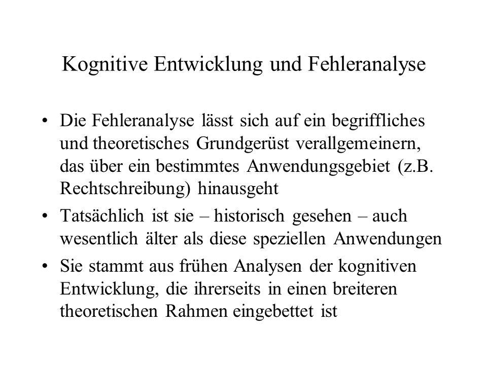 Intelligenz und Schulleistungen Für die Bewältigung schulischer (kognitiver) Problemstellungen (z.B.