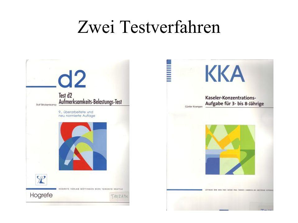 Zwei Testverfahren