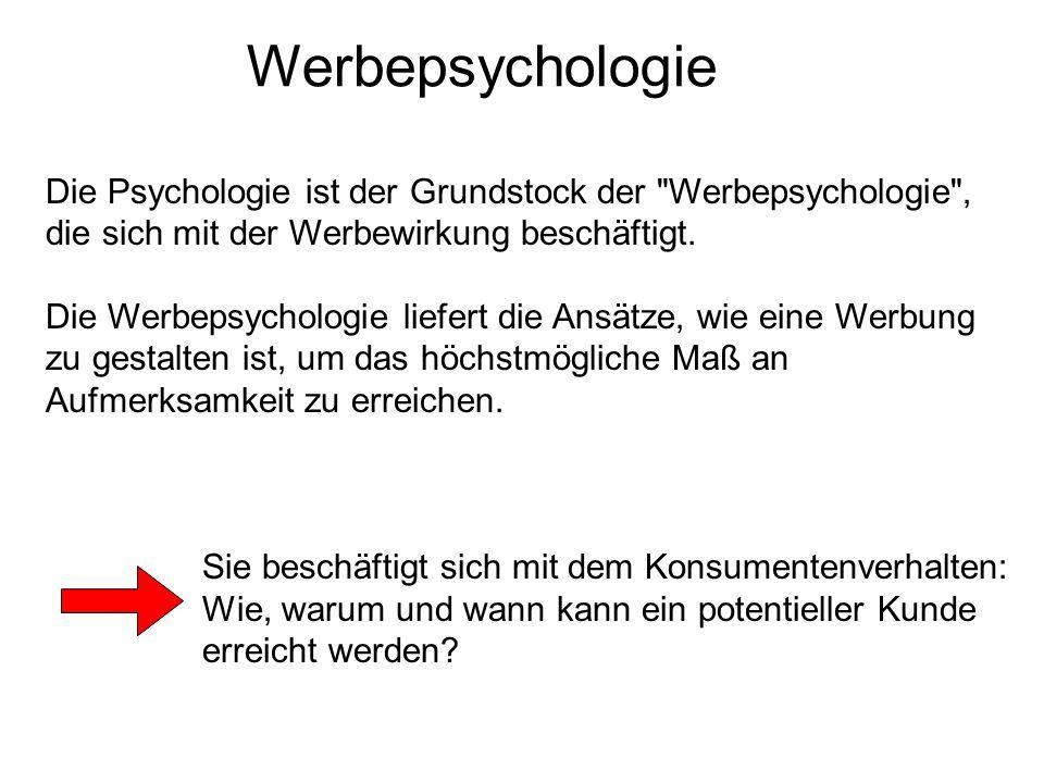 Die Psychologie ist der Grundstock der