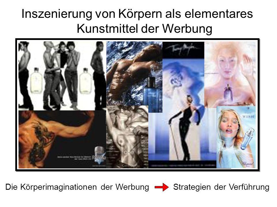 Inszenierung von Körpern als elementares Kunstmittel der Werbung Die Körperimaginationen der Werbung Strategien der Verführung