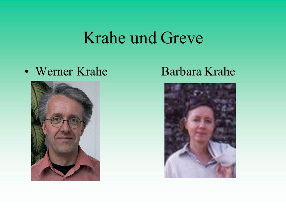 Krahe und Greve Werner Krahe Barbara Krahe