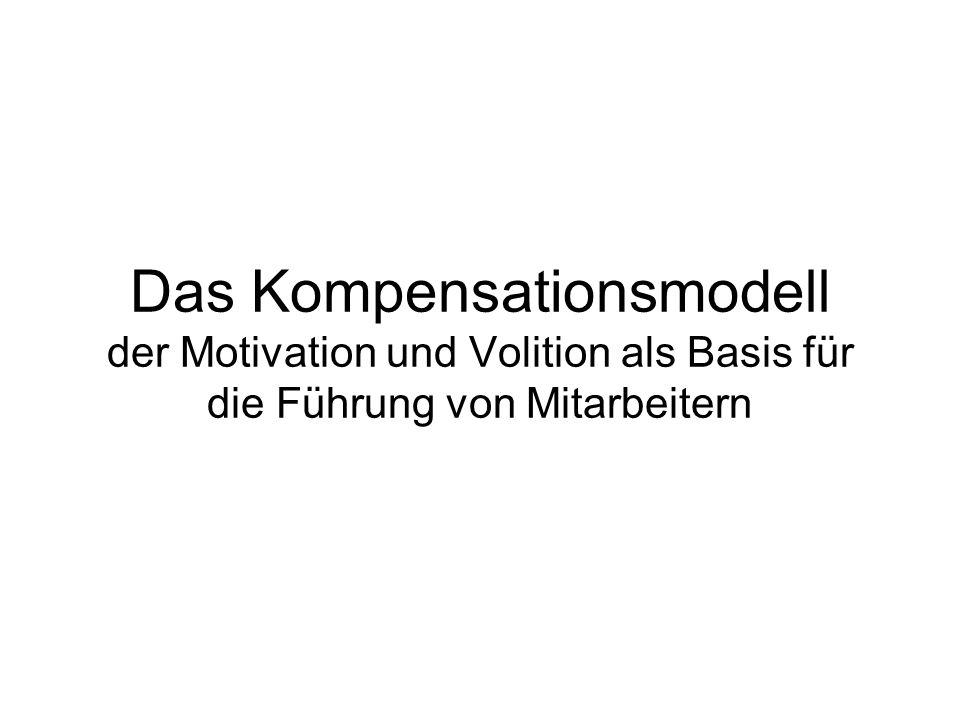 Flow im Kompensationsmodell bei Kehr (2004) Optimales Passungsverhältnis von Aufgabenschwierigkeit und Fähigkeit bedeutet noch keinen Flow.