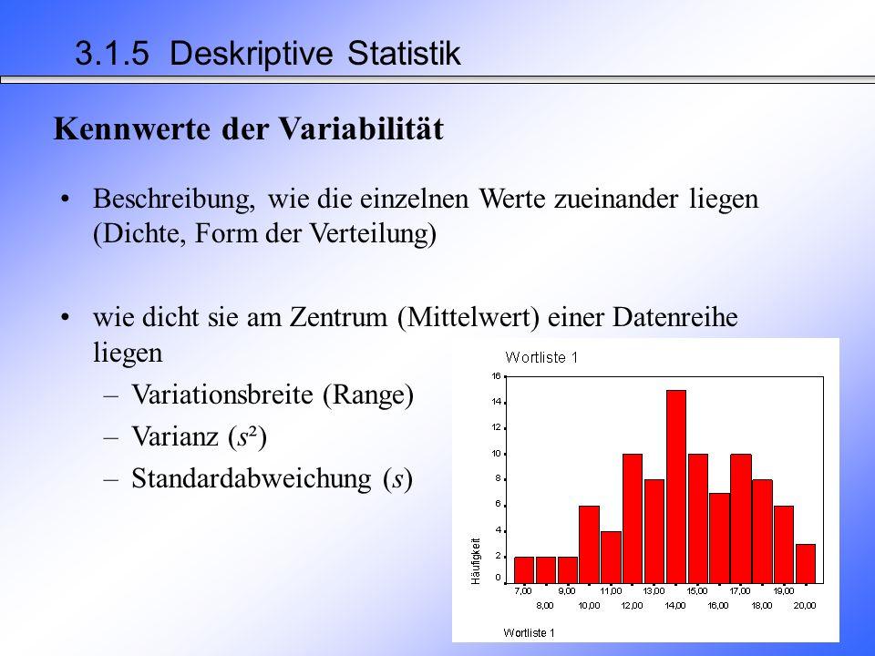 M WL1 = _____.M WL2 =_____. Arithmetisches Mittel Sind diese Unterschiede statistisch bedeutsam.