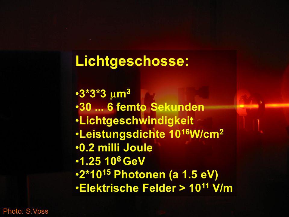 Photo: S.Voss Lichtgeschosse: 3*3*3 m 3 30...